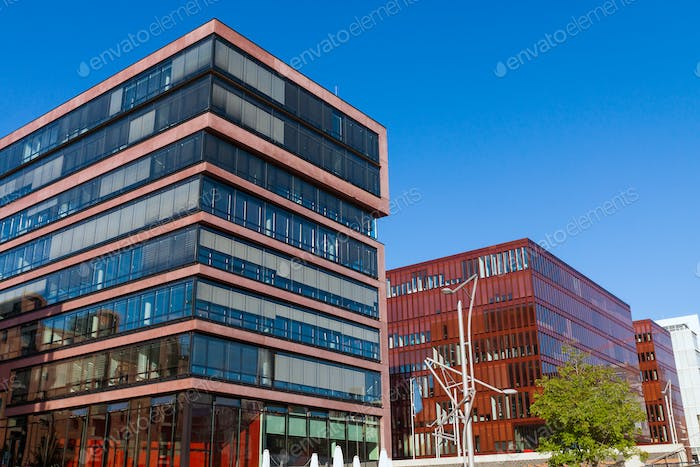 Buildings in the Hafencity, Hamburg