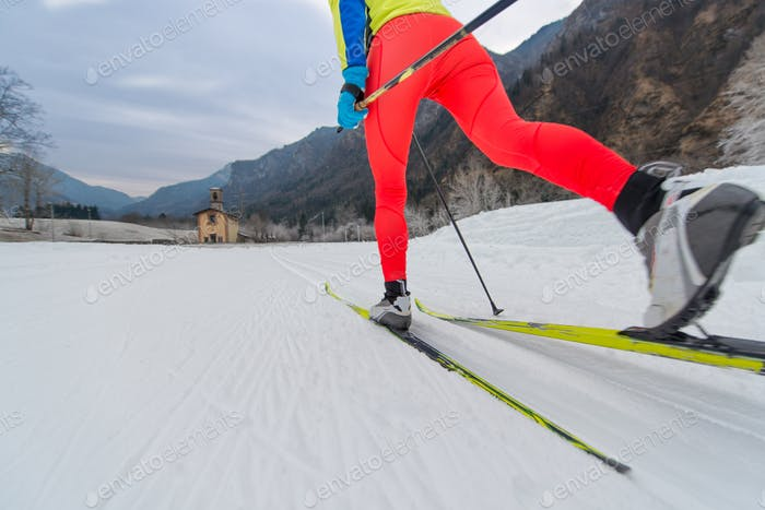 Particular of Cross-country skiing