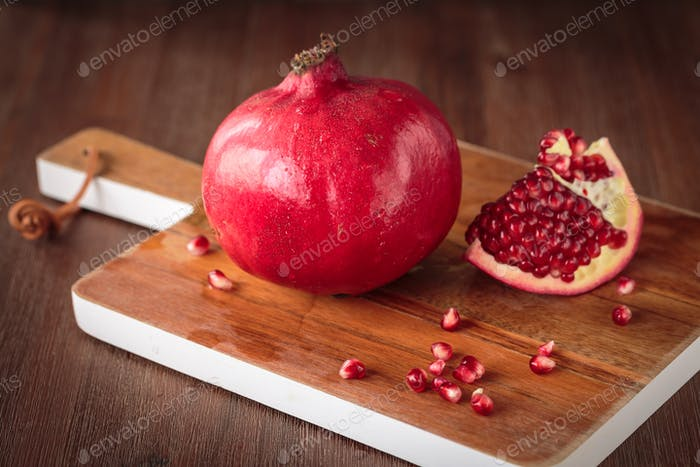 Fresh raw pomegranate
