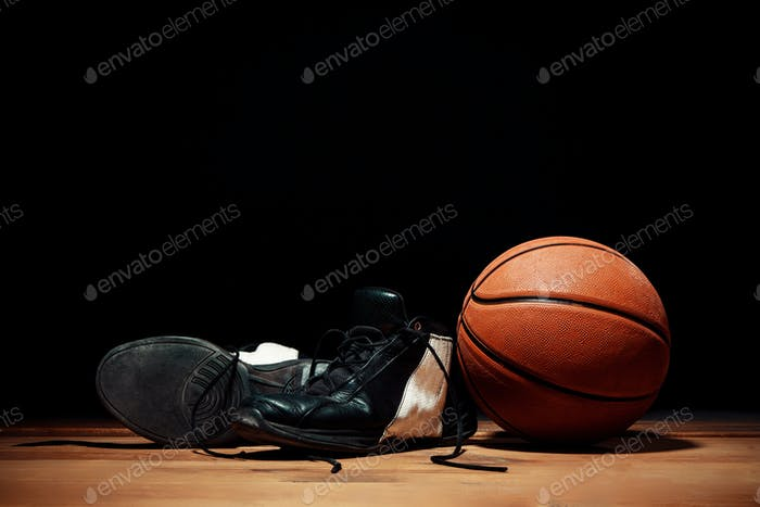 The basketball equipment