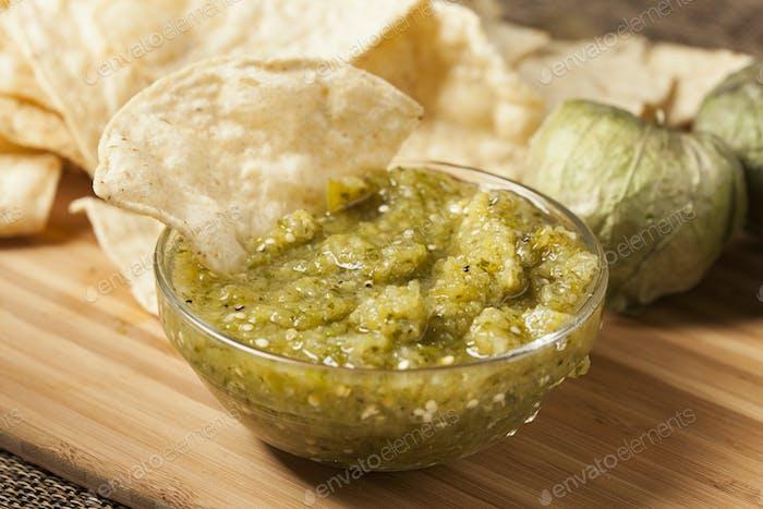 Fresh Homemade Salsa Verde