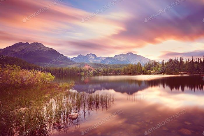 Wunderbarer Sonnenaufgang