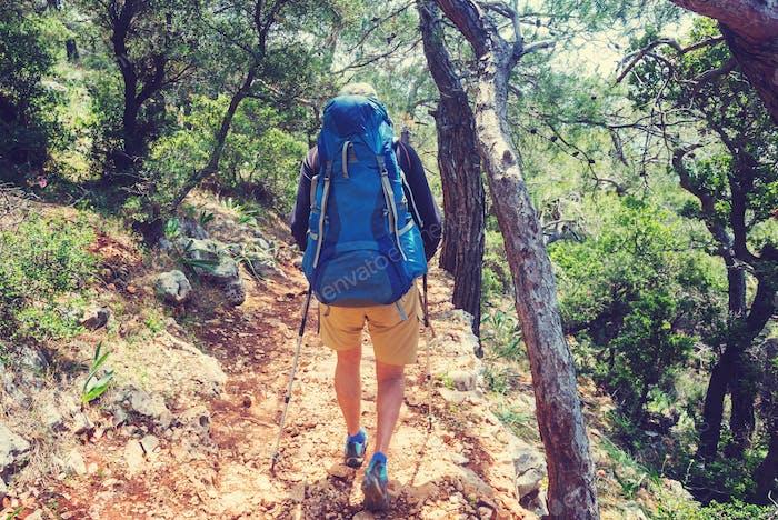 Wanderung in der Türkei