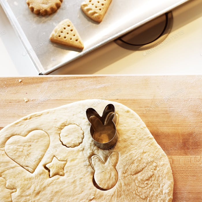 Bäckerei Cookie Kochen Köstliche Kekse Konzept