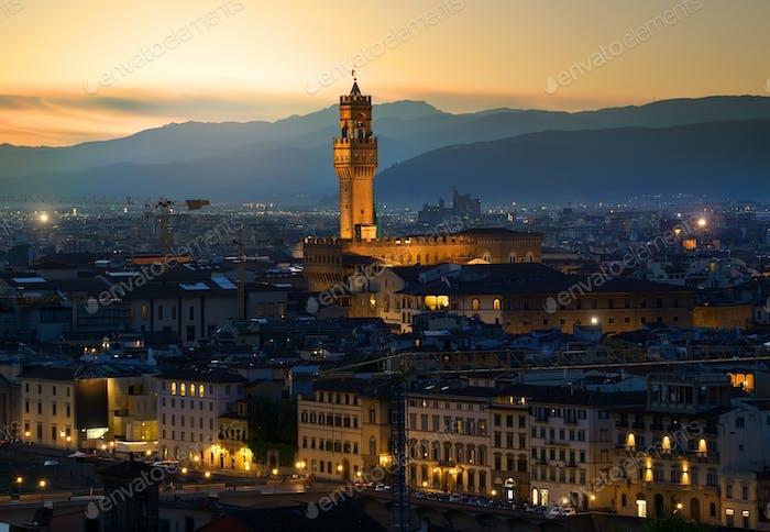 Am frühen Morgen in Florenz