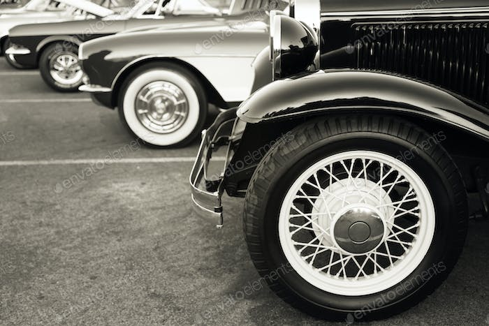 classic vintage cars