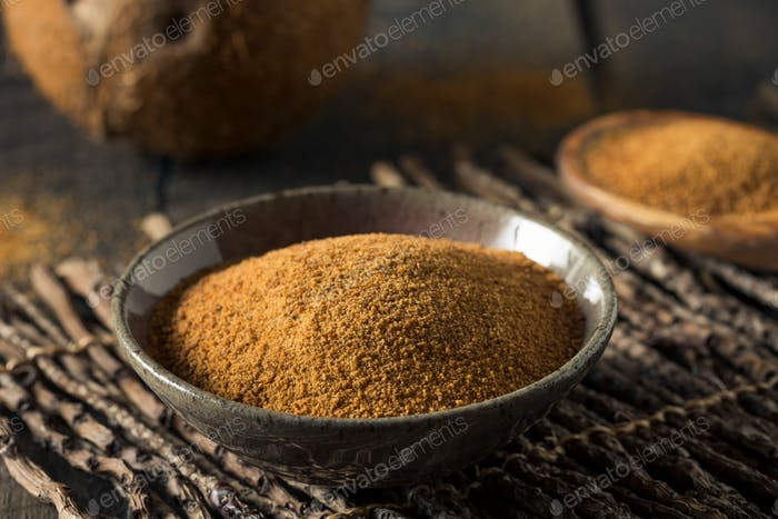 Raw Organic Coconut Palm Sugar