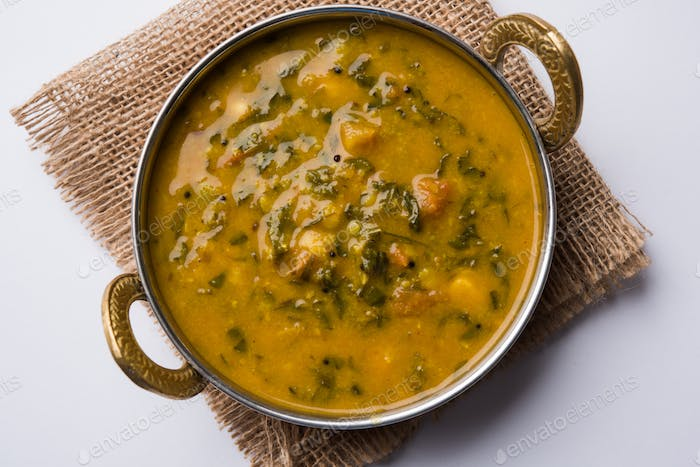 Palak Dal/Spinat Curry