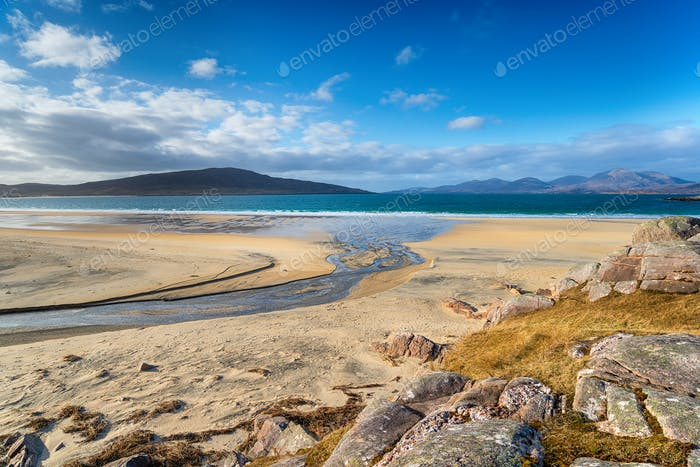 Sandy Beaches on the Isle of Harris