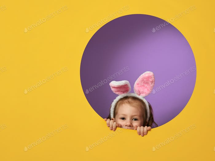 child on Easter day