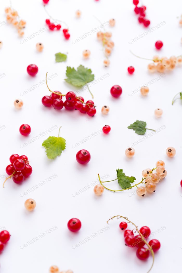 Top View Photo of mix of berries