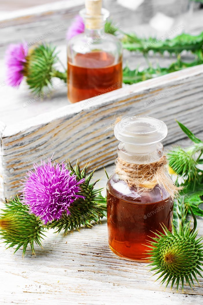 Medicinal extract of milk Thistle