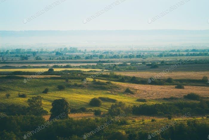 Beautiful Landscape fields.