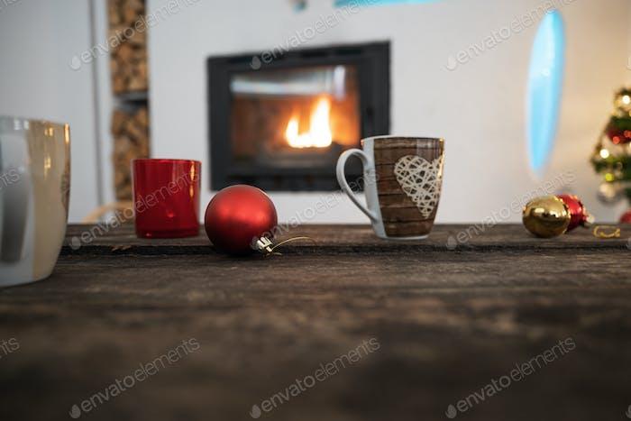 Christmas holidays atmosphere