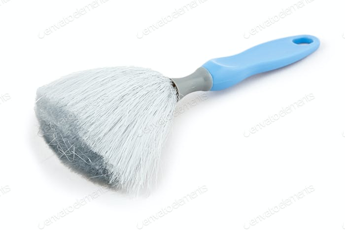 Dust brush isolated