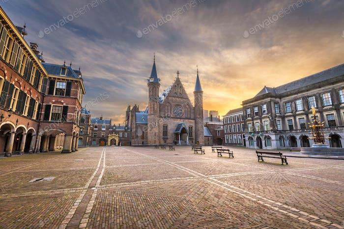 Den Haag, Niederlande am Ridderzaal