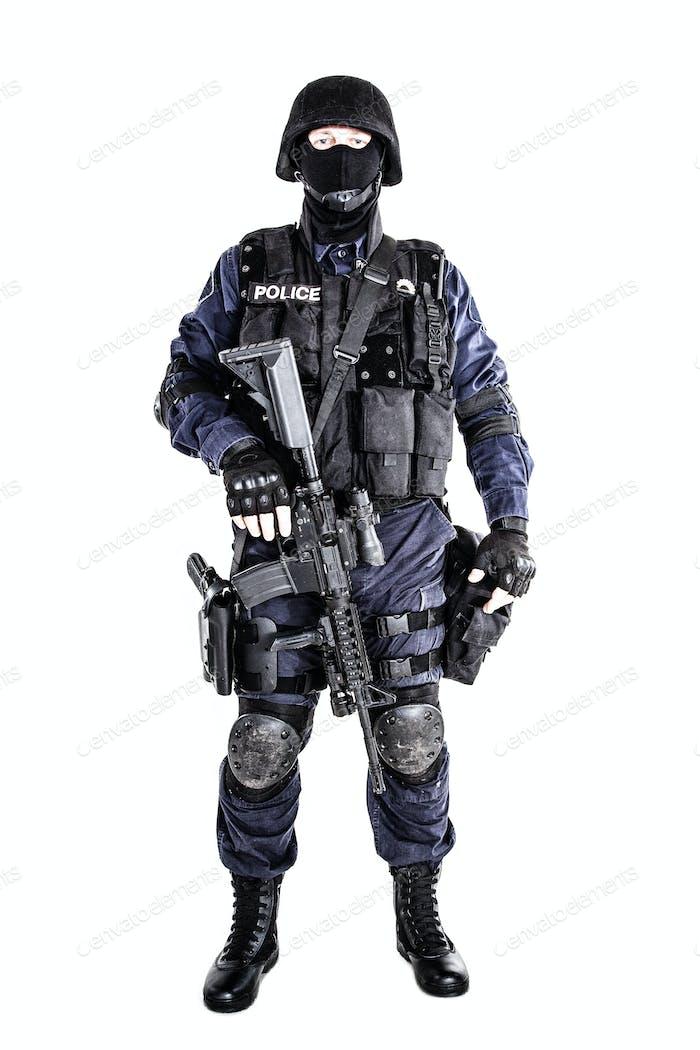 SWAT Offizier