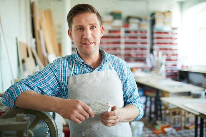 Owner of workshop