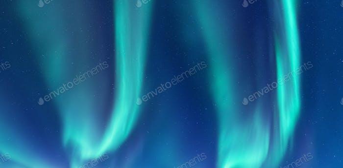 Aurora borealis, Norwegen. Nordlicht als Hintergrund.