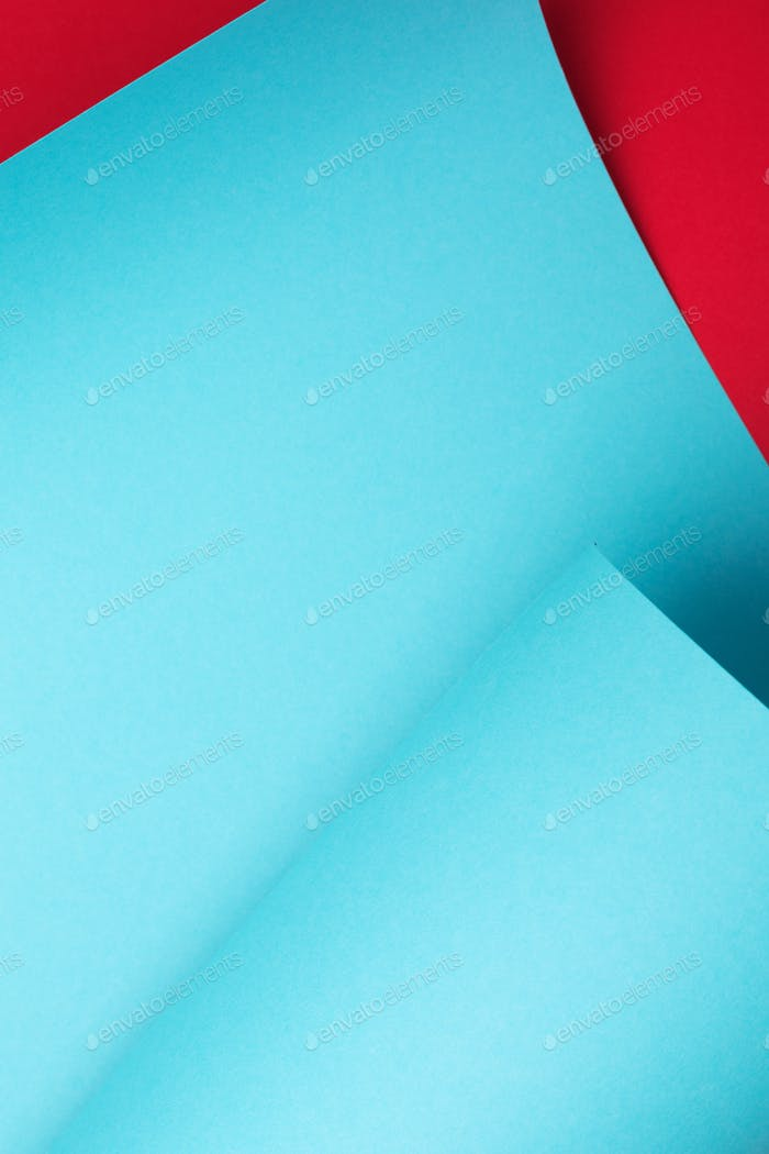 Blue Curve Paper Abstract Background.