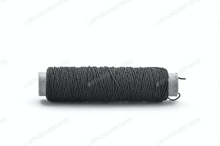 Black thread spool