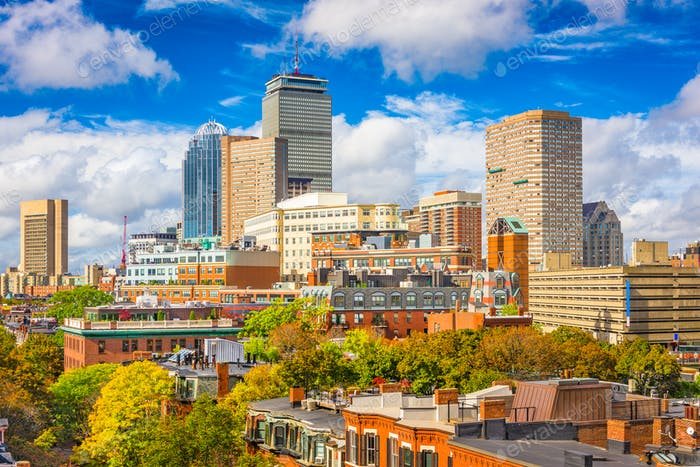 Boston, Massachusetts, USA Cityscape