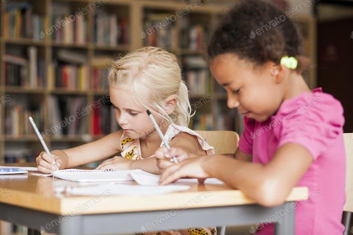 Девочки, обучающиеся в классе