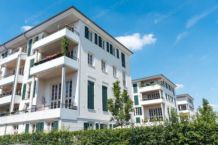 Modern multi-family houses in Berlin