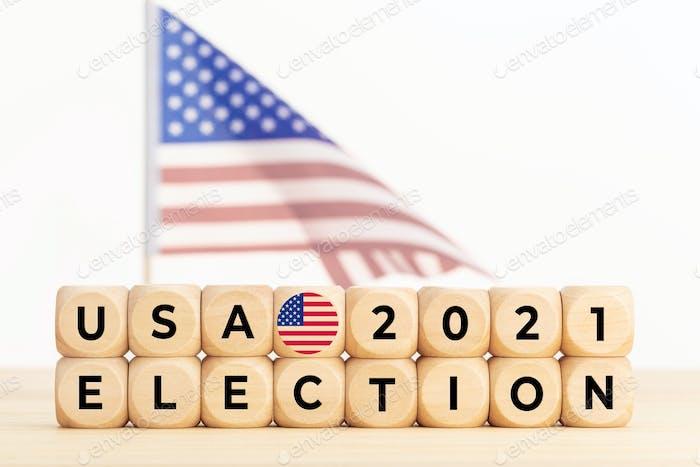 USA 2021 election concept