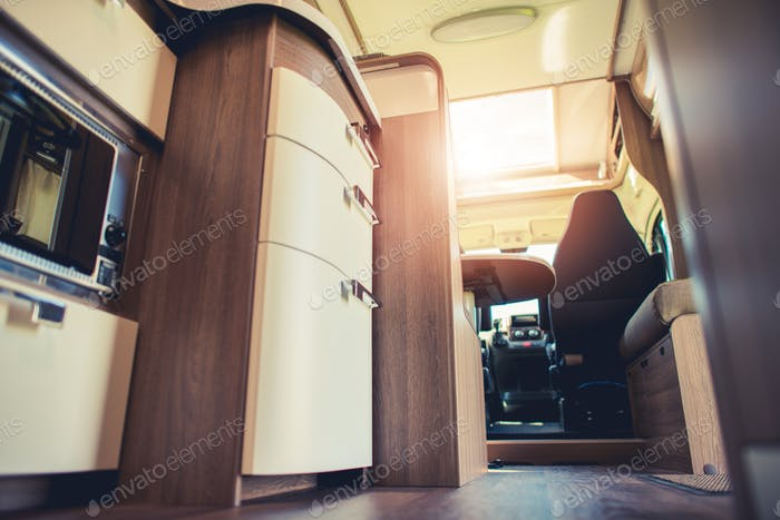 Modern Motorhome Interior