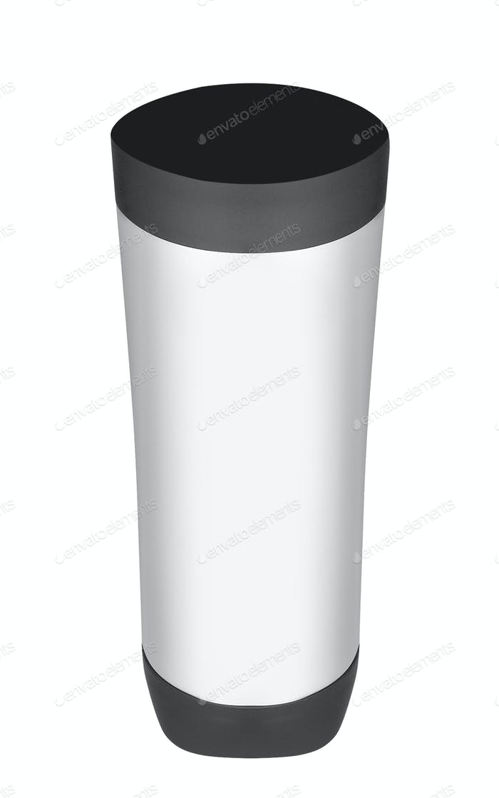 thermos isolated on white