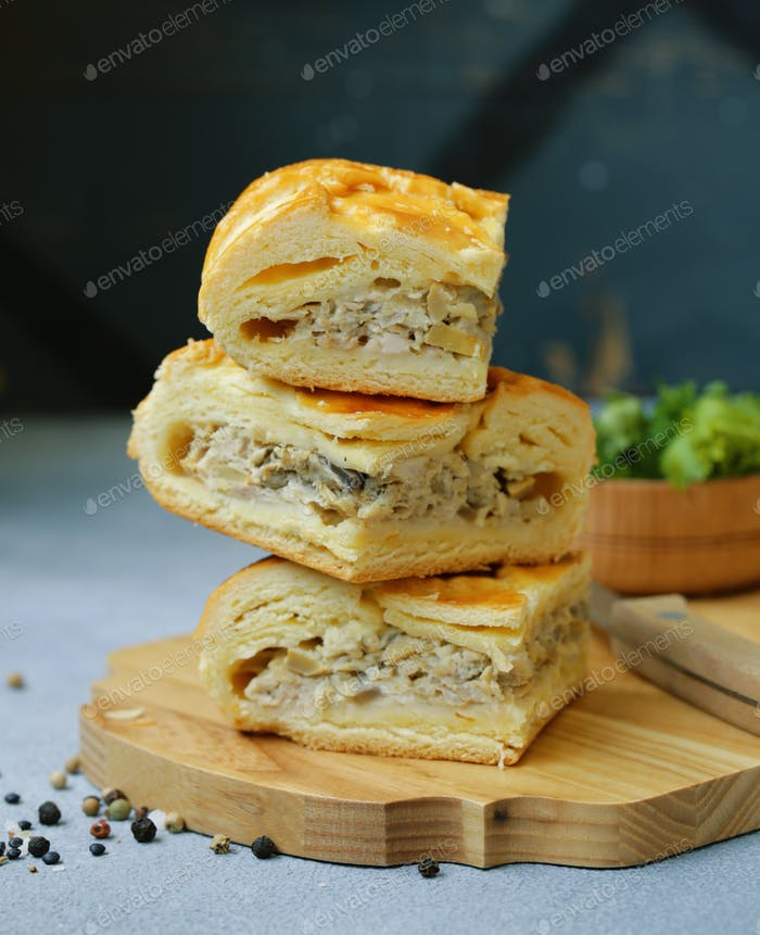 Meat Pie with Chicken