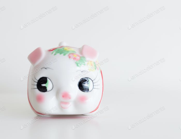 Traditional chinese piggy bank
