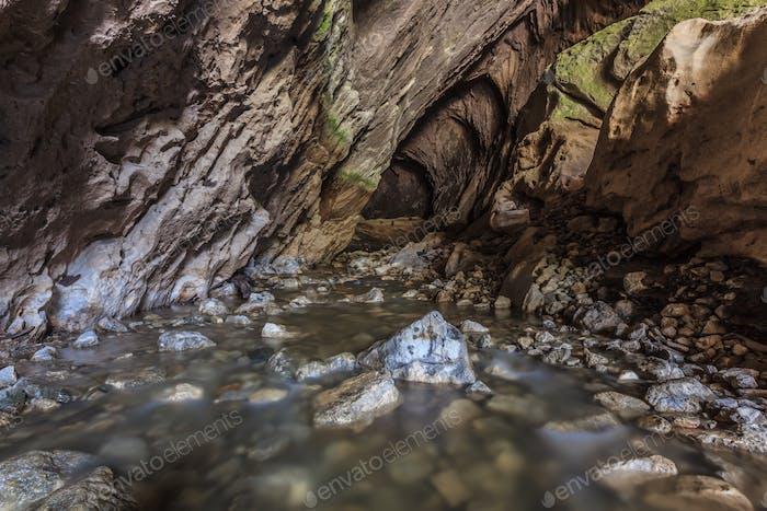 Ponicova cave, Romania