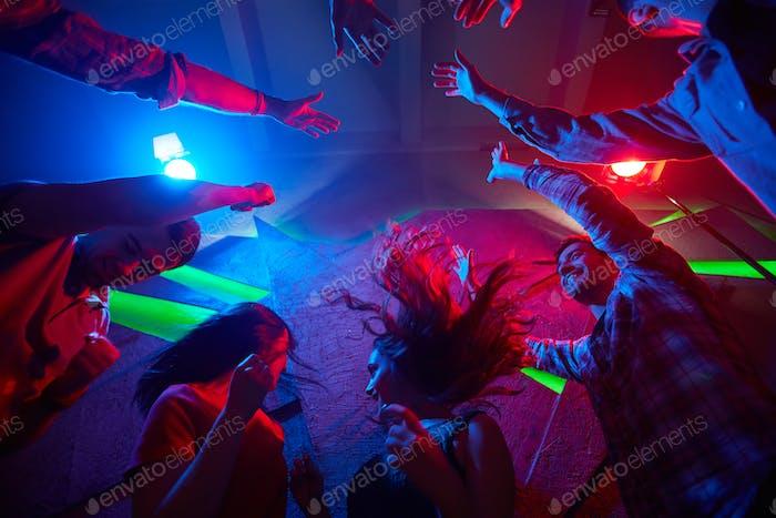 Leisure in night club