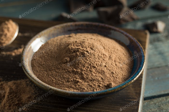 Organic Whey Chocolate Protein Powder