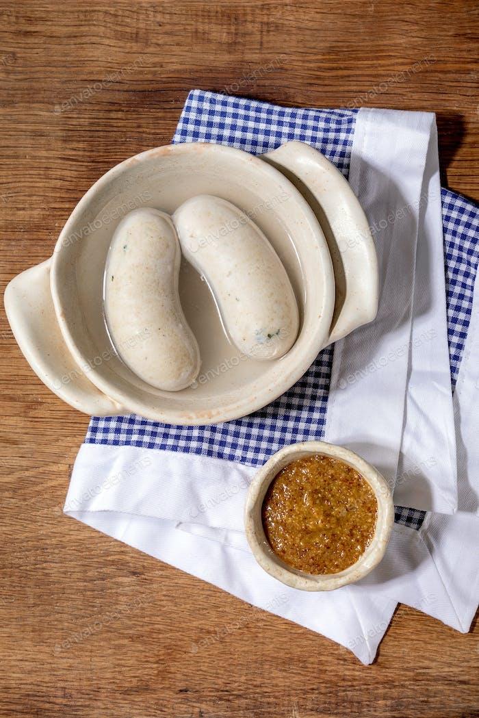Bavarian traditional sausages