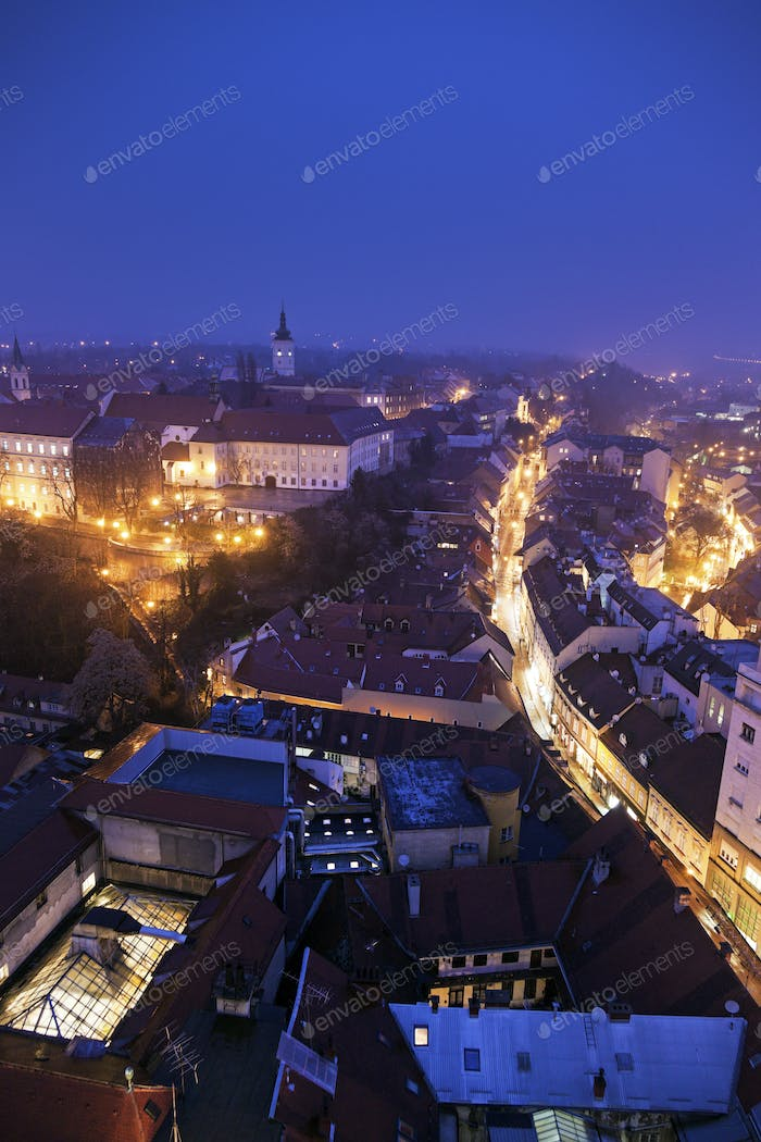 Old town of Zagreb