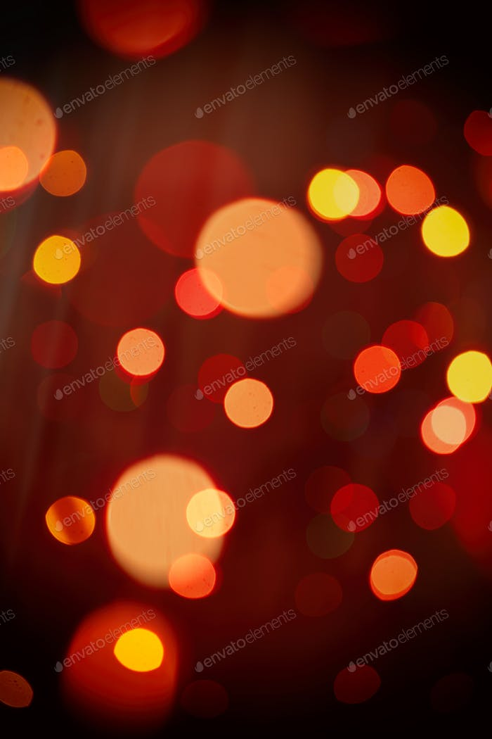 Christmas lights colorful bokeh background. Holiday festive atmosphere