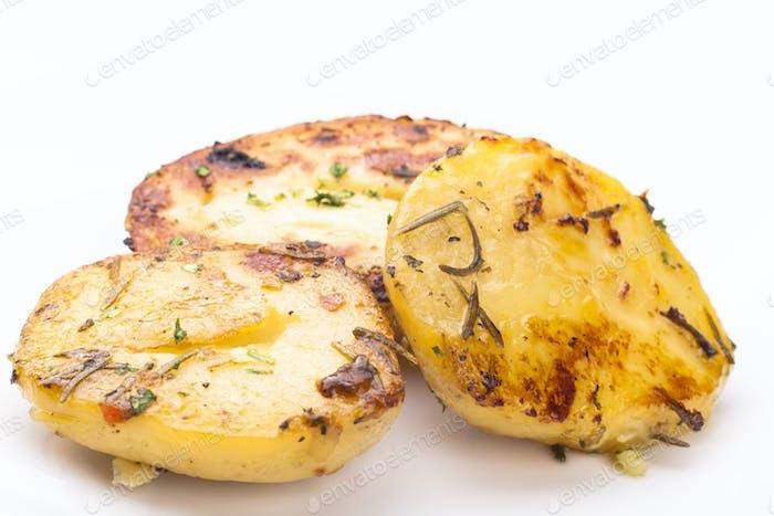 Gekochte Kartoffel