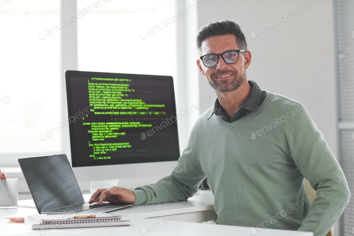 Programador de computadora exitoso