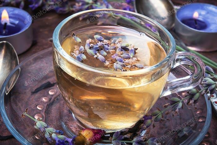 Herbal Tea with lavender