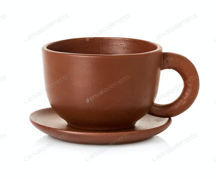empty brown cup