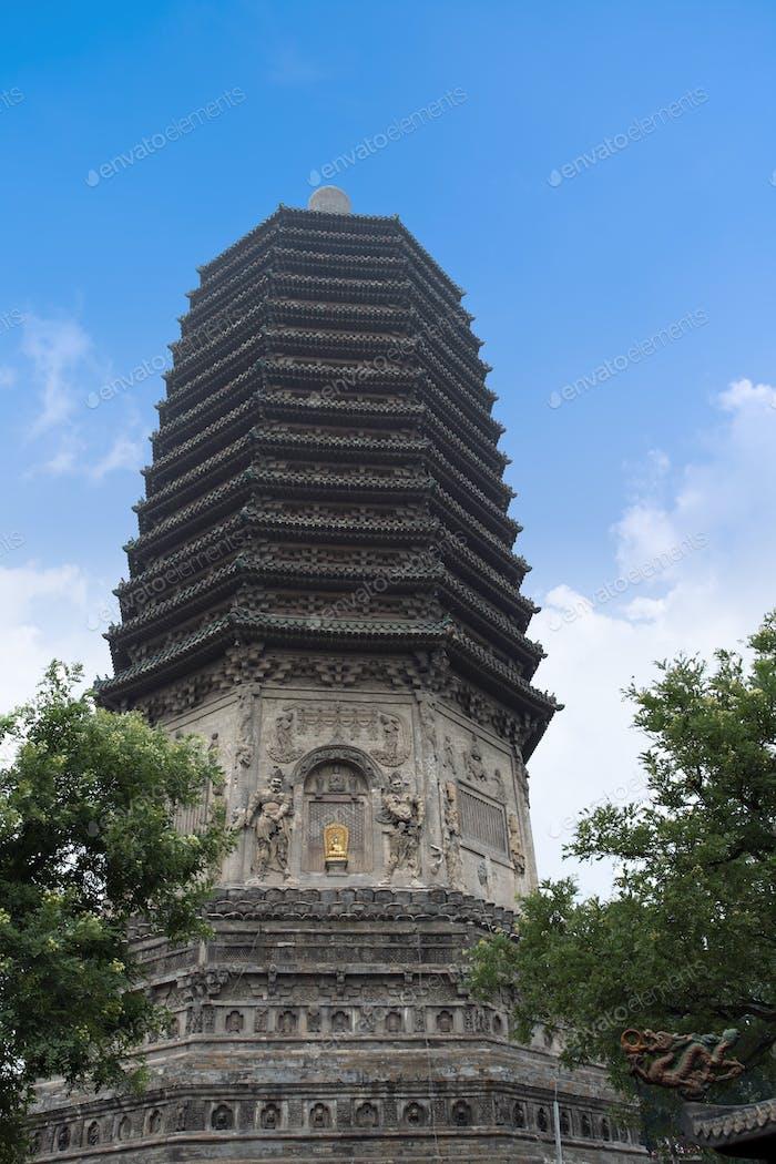 buddhistic pagoda