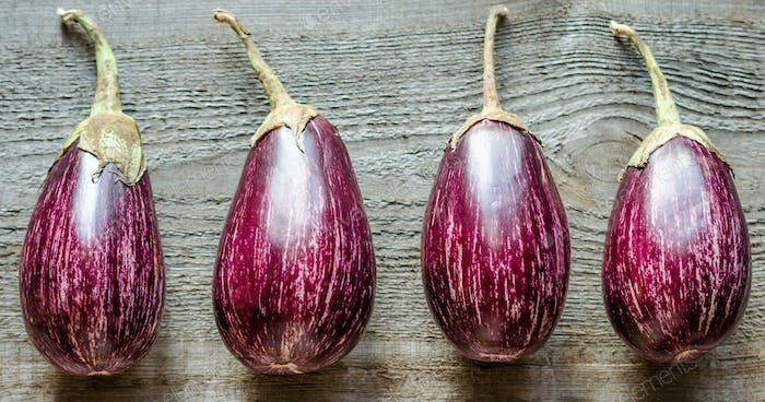 Graffiti Eggplants
