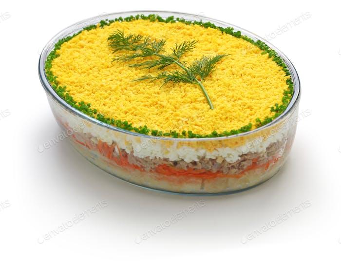 mimosa salad,