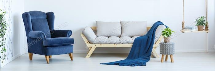 Cozy interior of room