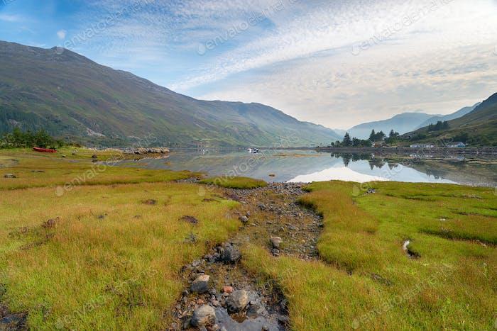 Loch Duich in Scotland