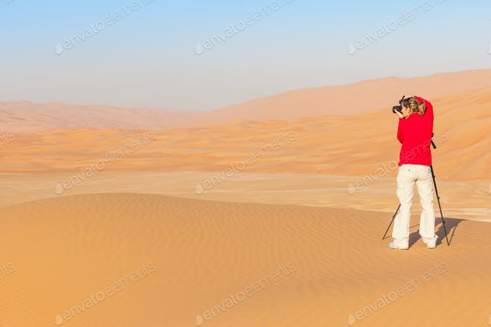 Photography in the Empty Quarter