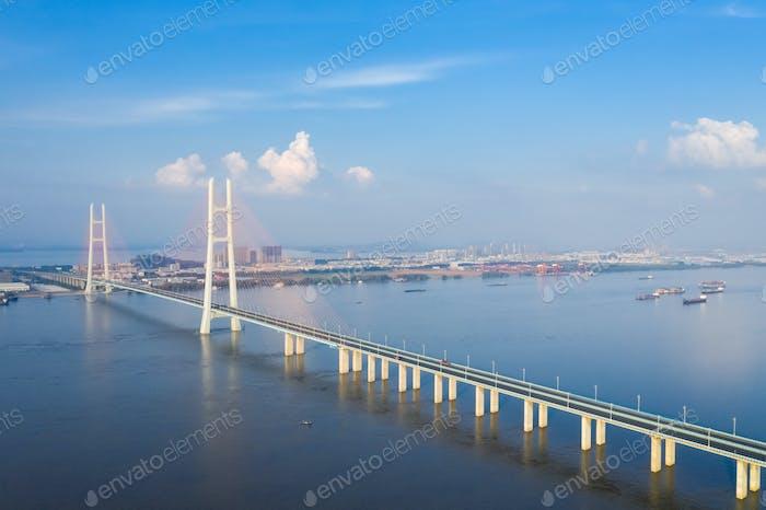 the second jiujiang bridge